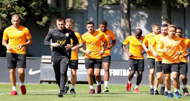 Galatasaray, Lokomotiv Moskova maçının hazırlıklarına başladı