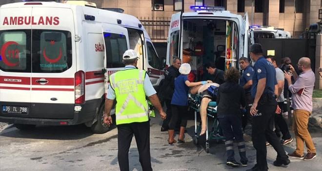 İzmir Adliyesi'nde gaz sızıntısı: 5 kişi hastaneye kaldırıldı