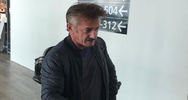 Sean Penn Türkiye'den ayrıldı