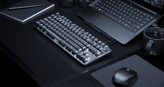 Razer'dan hem oyun hem de iş için klavye: Blackwidow Lite