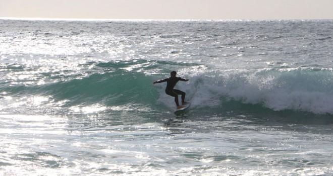 Alanya'da Dalga Sörfü Türkiye Şampiyonası yapıldı