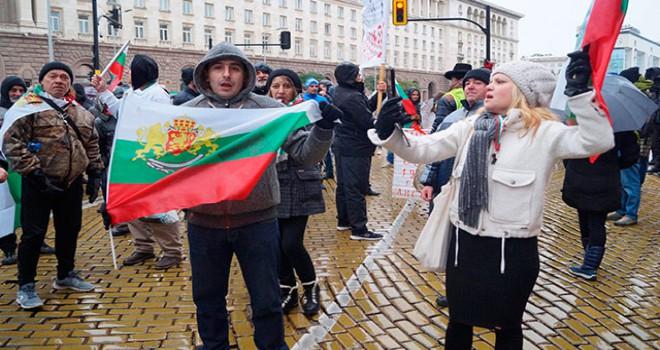 Hükümetin istifasının istendiği Bulgaristan'da protestolar bir ayını doldurdu