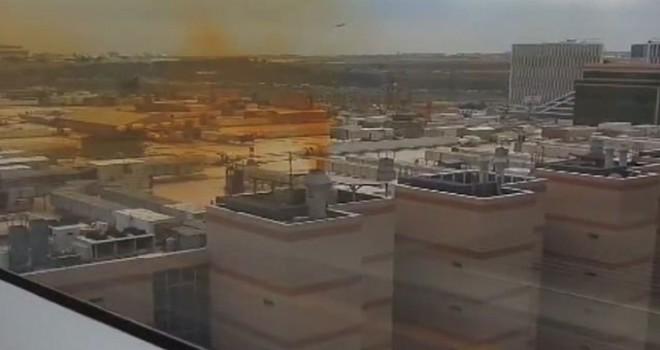 Kuyumcukent'ten yükselen sarı dumanla ilgili açıklama
