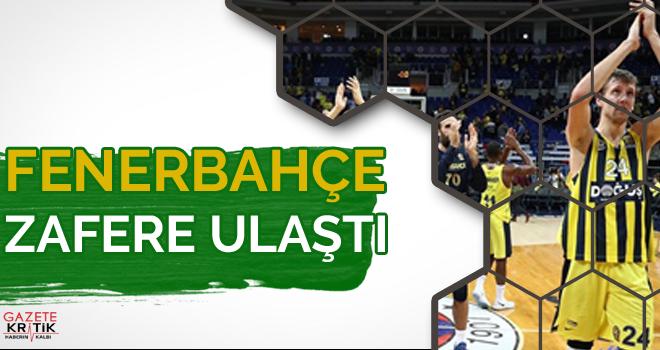 Fenerbahçe zafere ulaştı