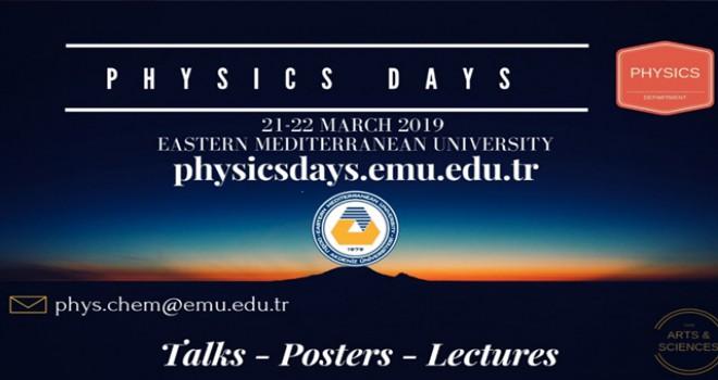 İkinci DAÜ Fizik Günleri başlıyor