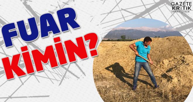 CHP'Lİ SARIBAL:FUAR KİMİN? SEKTÖRÜNÜN MÜ TEK ADAM KEYFİ YÖNETİMİNİN Mİ?