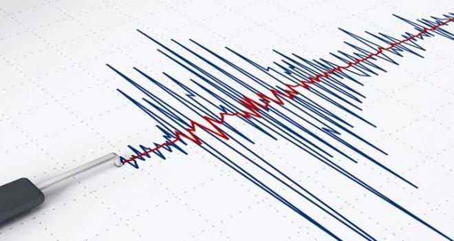 Bozcaada açıklarında deprem