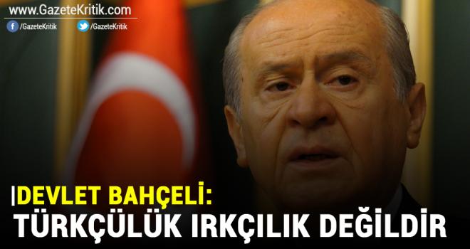 Devlet Bahçeli: Türkçülük ırkçılık değildir