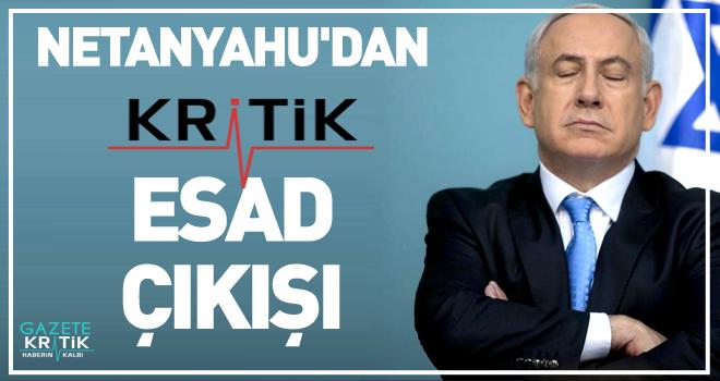 Netanyahu'dan kritik Esad çıkışı