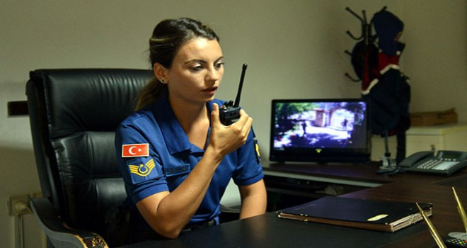 Marmaris'e kadın komutan