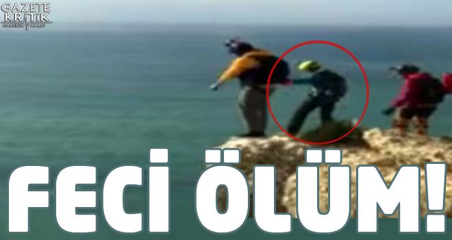 Paraşütü açılmayan turist, 90 metreden yere çakıldı