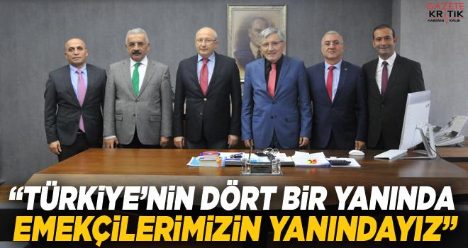 CHP'li Çakırözer'den Belediye-İş Genel Merkeze ziyaret