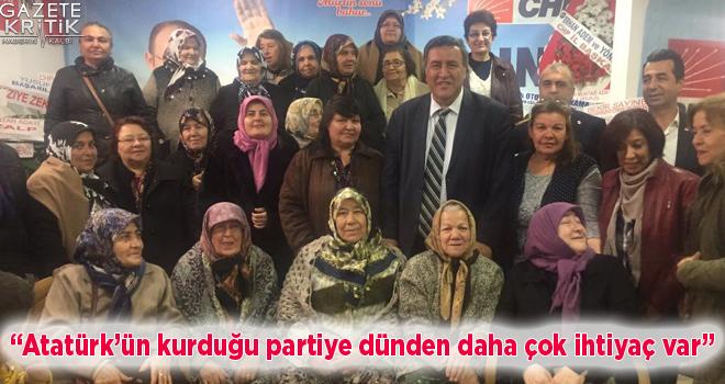 CHP'li Gürer: Atatürk'ün kurduğu partiye dünden daha çok ihtiyaç var