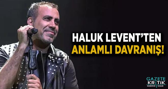 Haluk Levent konser gelirini Yeni Zelanda'da hayatını kaybeden müslümanlara bağışladı