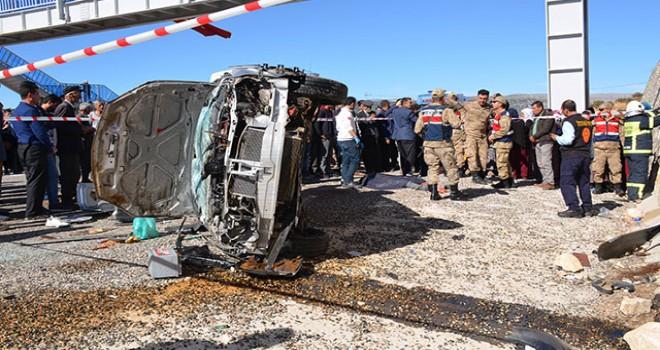 Taziyeye giderken kaza yaptılar: Ölü ve yaralılar var