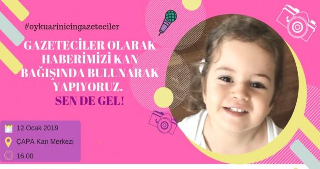 Gazetecilerden Öykü Arin için bağış kampanyası