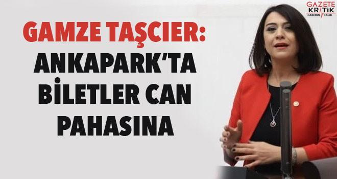 TAŞCIER: ANKAPARK'TA BİLETLER CAN PAHASINA