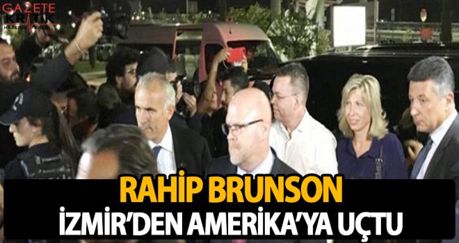 Rahip Brunson, İzmir'den Amerika'ya uçtu