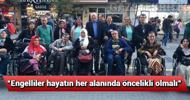 CHP'li Utku Çakırözer'den 3 Aralık Dünya Engelliler Günü mesajı