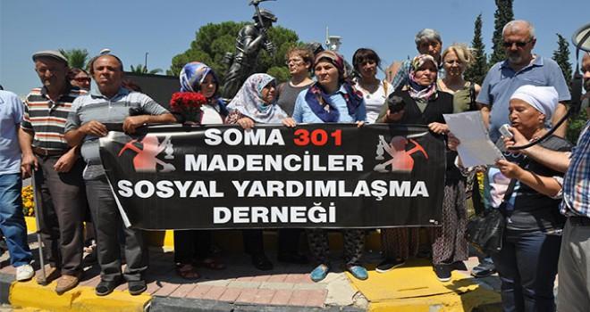 Madenci aileleri, 'adalet buluşması' için Soma'dan yola çıktı