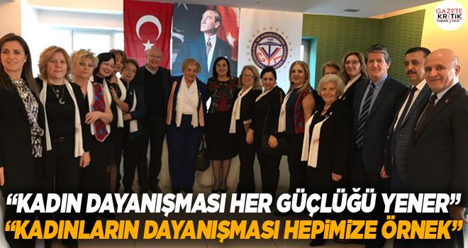 CHP'li Çakırözer ve Süllü'den Eskişehirli kadınlara dayanışma teşekkürü
