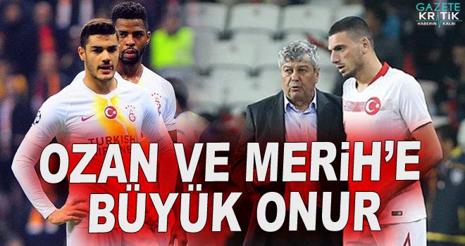 UEFA Ozan Kabak ve Merih Demiral'ı listeye aldı