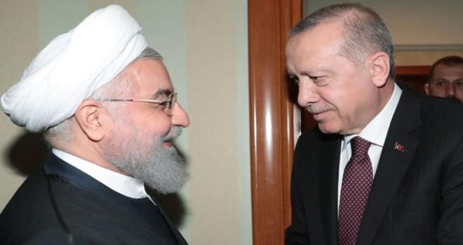 Cumhurbaşkanı Erdoğan, Ruhani ile görüştü