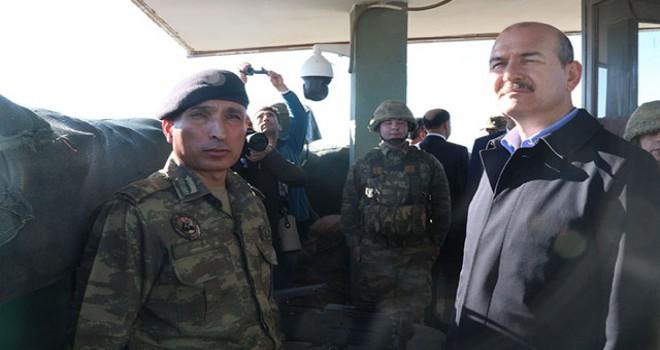 Bakan Soylu'nun ziyareti sırasında bir terörist öldürüldü