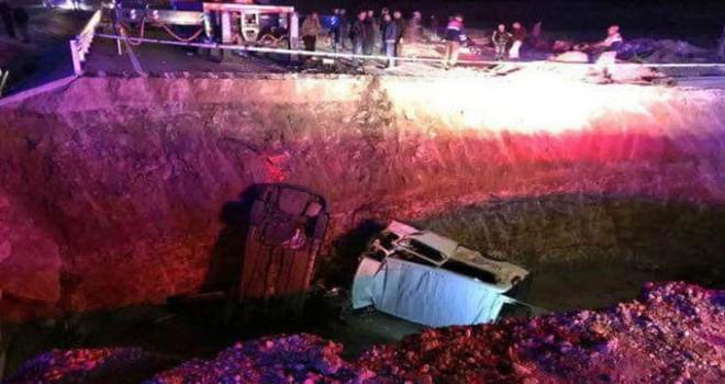 Bayburt'ta, 9 cana mal olan 'ölüm çukuru' davası görüldü
