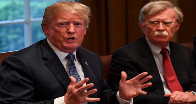 New York Times: Trump, Ulusal Güvenlik Danışmanı John Bolton'ın adını bazen hatırlayamıyor
