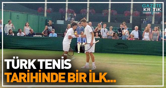 Türk Tenisçi Yankı Erel Wimbledon'da çiftlerde finale yükseldi