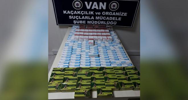 Van'da 26 bin tablet kaçak ilaç ele geçirildi