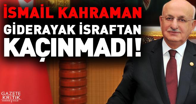 CHP'li Murat Emir; İsmail Kahraman giderayak israftan kaçınmadı!