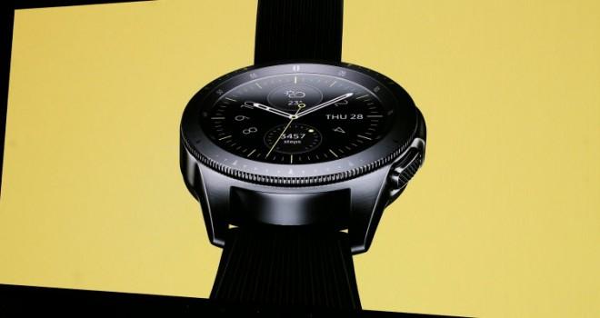Samsung'tan yepyeni bir akıllı saat daha: Galaxy Watch