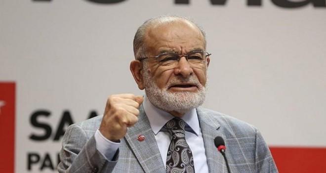 SP lideri Karamollaoğlu'ndan başkanlık eleştirisi