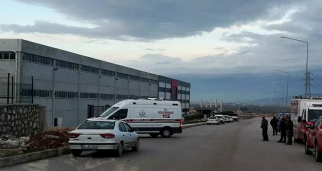 İzmir'de fabrika'da patlama: Ölü ve yaralılar var