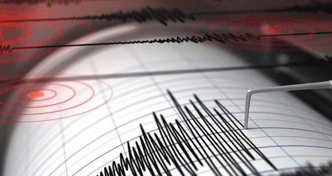 Çanakkale'de deprem! Saat 14:56'da hissedildi