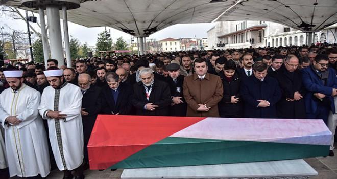 Filistin'in İstanbul Başkonsolosu, İstanbul'da toprağa verildi