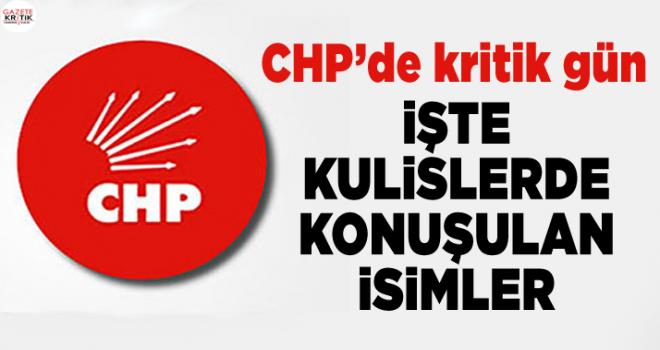 Kulislerde bu isimler konuşuluyor: İşte CHP'nin adayları