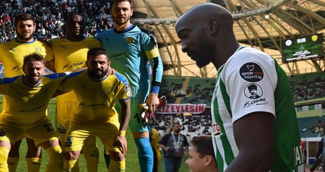 Konyaspor-Ankaragücü maçına Atatürk imzası