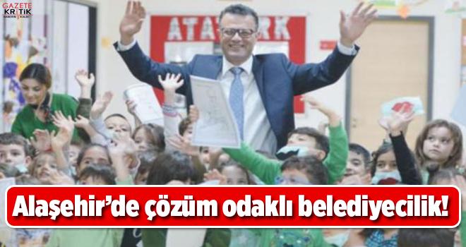 Alaşehir'de çözüm odaklı belediyecilik!