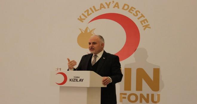 Kızılay'a destek için 'Altın Katılım Fonu' kuruldu