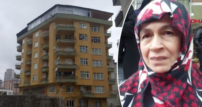 Bir çökme tehlikesi daha! 8 katlı bina boşaltıldı: 'Yemek hazırlıyordum, çatırdama sesi duydum'