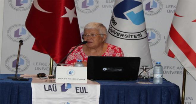 Prof. Dr. Ataman: 'Özel Eğitim'de erken tanı ve müdahale önemlidir