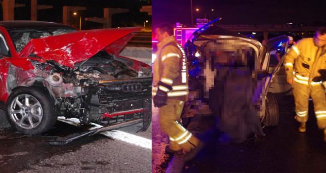 Maltepe'de trafik kazası: 1 ölü, 1'i ağır 2 yaralı