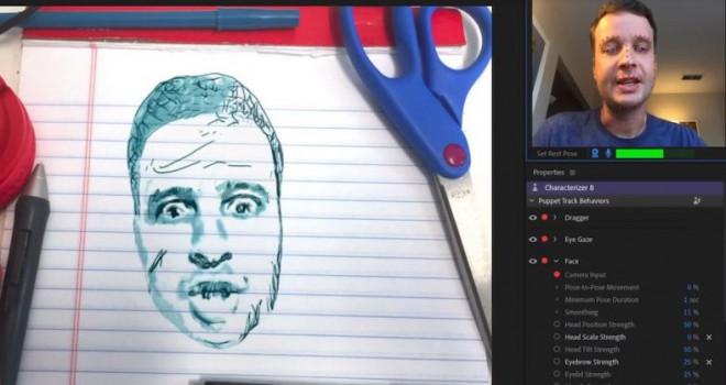 Adobe Characterizer ile yüzünüz karikatüre dönüşüyor!