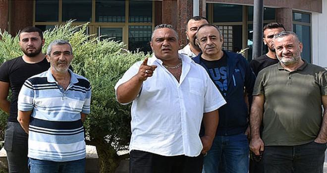 Konsomatris izni için bakanlık önünde eylem yaptılar