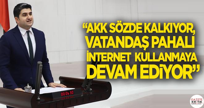 'AKK Sözde Kalkıyor, Vatandaş Pahalı İnternet Kullanmaya Devam Ediyor'