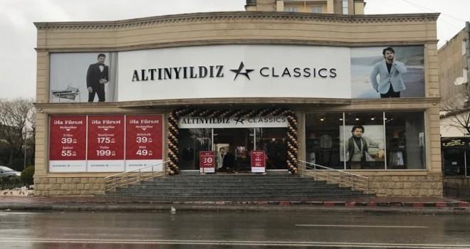 Altınyıldız Classics'in Azerbaycan'daki ilk mağazası açıldı