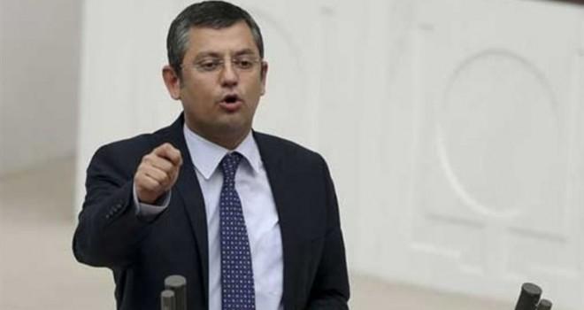 CHP'li Özel: Bir santim eğilirsek Türkiye diz çöker